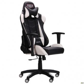 Геймерское кресло AMF VR Racer Blade черный/белый