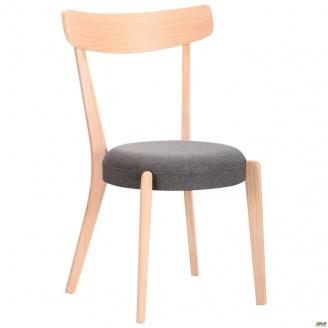 Деревянный стул AMF Пекорино 830х500х510 мм бук беленый графит