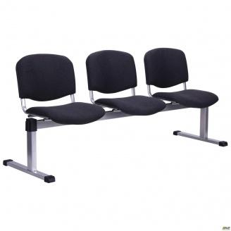 Рядный стул AMF Изо-3 А-01 Алюм 1790x830x600 мм