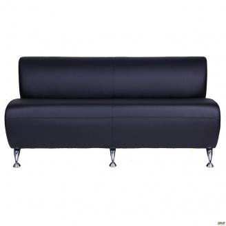 Офисный диван AMF Каролина 1470x760x660 мм черный