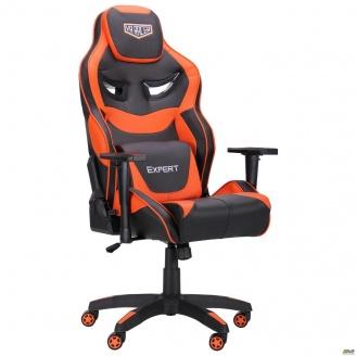 Кресло АМФ VR Racer Expert Genius черный/оранжевый