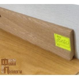 Плінтус пристінний Файні Підлоги Ясень строкатий 15х60 см