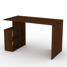 Письмовий стіл Компаніт Учень-3 ДСП 1200х738х600 мм горіх-еко