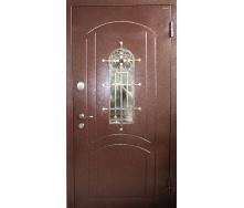 Входные металлические двери Strimex со стеклопакетом