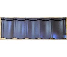 Металлочерепица модульная Strimex Лига Нова мат шоколад (RAL 8017)