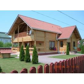 Проект будинку з профільованого бруса 160 мм 125 м2