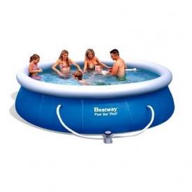 Надувний басейн Bestway 57321 396х84 см з картриджних фільтрів