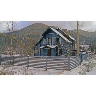 Будівництво будинку з клеєного бруса 200 мм 120 м2