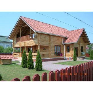 Строительство дома из профилированного бруса 160 мм 125 м2