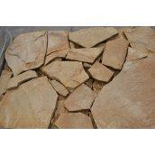 Камень песчаник 10 мм желтый