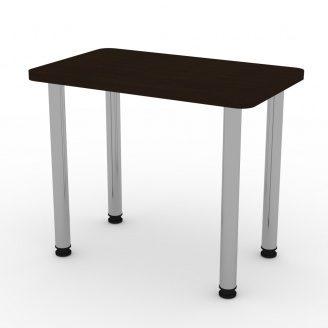 Кухонний стіл КС-9 Компаніт ДСП 726х900х550 мм темний венге