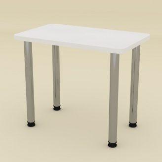 Кухонний стіл КС-9 Компаніт ДСП 726х900х550 мм білий німфея-альба
