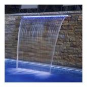 Стіновий водоспад EMAUX PB 900-150(L) з LED підсвічуванням