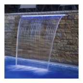 Стіновий водоспад EMAUX PB 600-150(L) з LED підсвічуванням