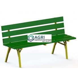 Парковая скамейка 1,7х0,5х0,8 м
