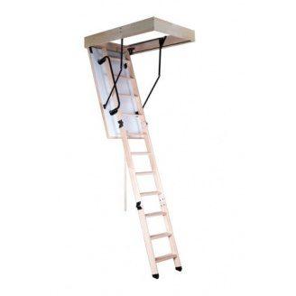 Чердачная лестница Oman KOMFORT с поручнем 120x60 см