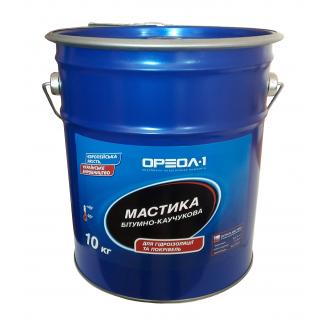 Мастика бітумно-каучукова Ореол-1 Універсальна 10 кг