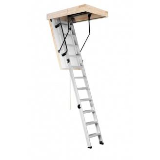 Чердачная лестница Oman Alu Profi Extra 120x70 см H280