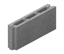 Блок перестіночний бетонний Золотий Мандарин М-75 50.8.20 500х80х190 мм