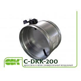 Дроссель-клапан воздушный вентиляционный C-DKK-200