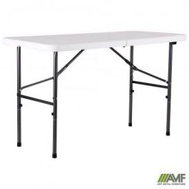 Туристический столик АМФ Рейвон 122х60х74 см пластик белый