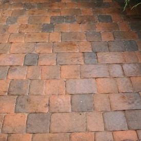 Тротуарна плитка Золотий Мандарин Стара площа 160х40 мм латина