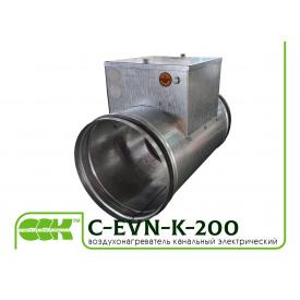 Канальный нагреватель воздуха электрический C-EVN-K-200-3,0
