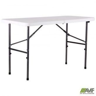 Туристичний столик АМФ Рейвон 122х60х74 см пластик білий