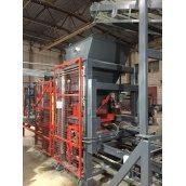 Вібропрес Васт-Сервіс VPS-400 A 19 кВт для виробництва тротуарної плитки