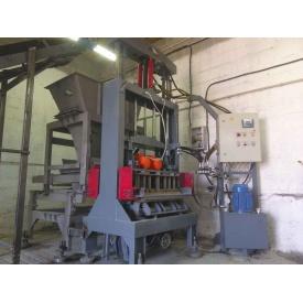 Вибропресс Васт-Сервис ПС-130 полуавтомат 8,5 кВт для производства строительных блоков и тротуарной плитки