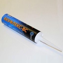 Виброакустический герметик Акуфлекс-ВС силиконовый 0,5 кг