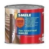Лак паркетный уретановый Smile Wood Protect SWL-22 0,75 л полумат