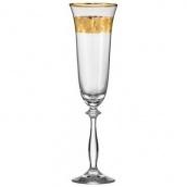 Набор бокалов для шампанского Bohemia Аngela 190 мл 2 шт (40600/Q8184/190)