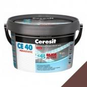 Эластичный водостойкий шов Ceresit СЕ 40 Aquastatic 2 кг какао