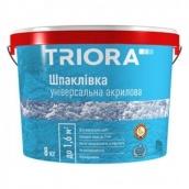 Шпаклевка акриловая универсальная Triora 8 кг