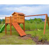 Деревянная детская площадка Капитошка от производителя