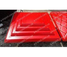 Крышка на забор LAND BRICK Египет красная 400х400 мм