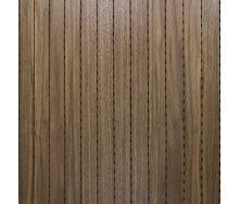 Акустическая перфорированная панель Decor Acoustic Орех 2400х576х16 мм