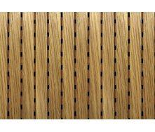 Акустическая перфорированная панель Decor Acoustic Дуб белый 2400х576х16 мм