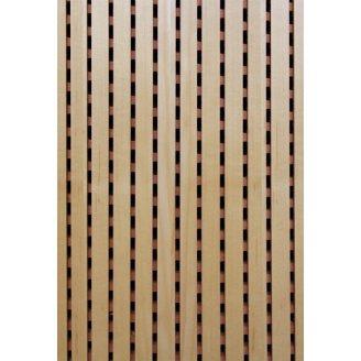 Акустическая перфорированная панель Decor Acoustic Клен 2400х576х16 мм