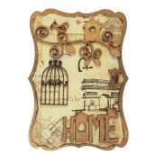 Ключница настенная ЛУКО HOME №1 29x21x9 см (1338)