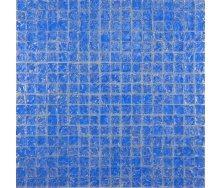 Мозаїка Grand Kerama моно блакитний колотий 300х300 мм (446)
