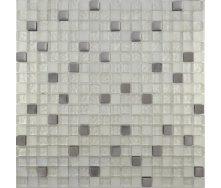 Мозаїка Grand Kerama мікс металік платина 300х300 мм (507)