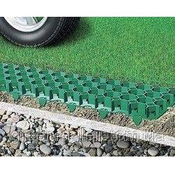 Газонна решітка пластикова 38х400х600 мм зелена