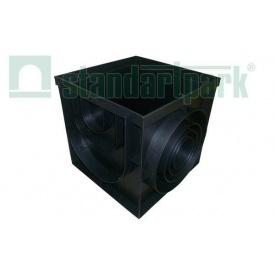 Дощоприймач-пісковловлювач PolyMax Basic ДПП-40.40-ПП пластик 403х403х391 мм (8472)