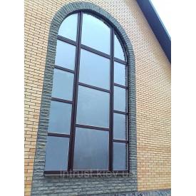 Арочні металопластикові вікна під замовлення