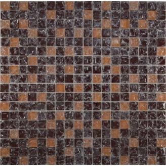 Мозаїка Grand Kerama мікс коричневий колотий-бежевий колотий 300х300 мм (451)