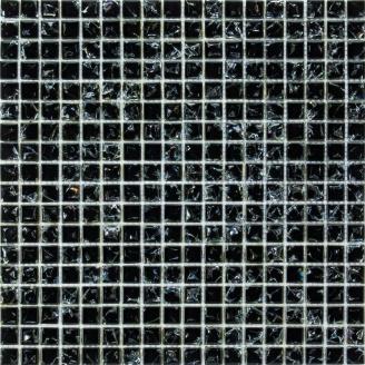 Мозаїка Grand Kerama моно чорний колотий 300х300 мм (448)