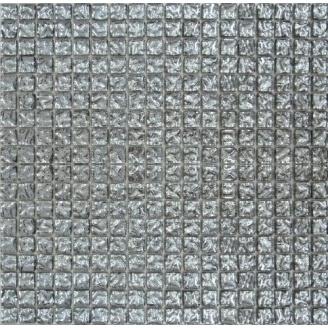 Мозаїка Grand Kerama моно рельєфна платина 300х300 мм (628)