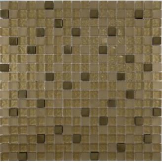 Мозаїка Grand Kerama мікс металік золото 300х300 мм (506)